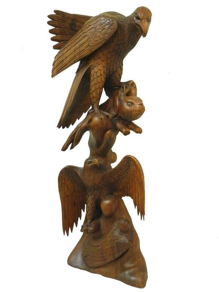 Собирать пазлы онлайн - Три орла | 600x450
